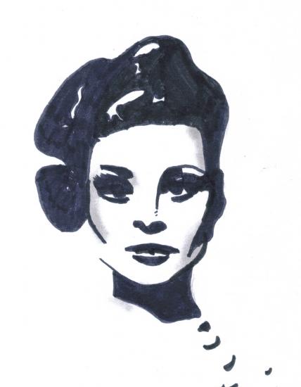 Faye Dunaway by Leena